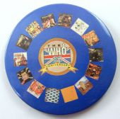 The Who - '25th Anniversary' 56mm Badge